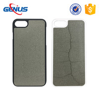 PC Embed Concrete Cement Case for iPhone 7 7 Plus Case