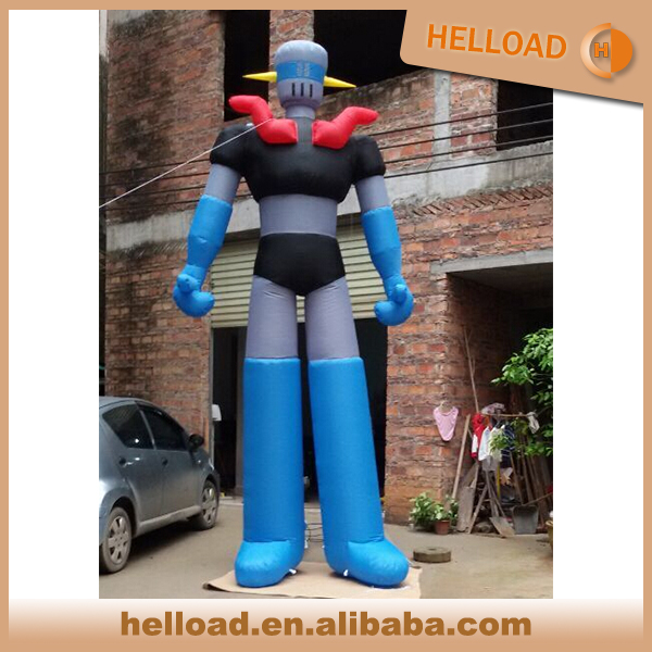 Good shape can be customized beautiful inflatable robot/inflatable model