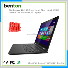 Best price intel quad core 13 inch Ultrathin 360 degree rotation laptops for Bulk Wholesale in Shenzhen