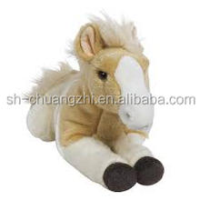 white horse stuffed plush for girls