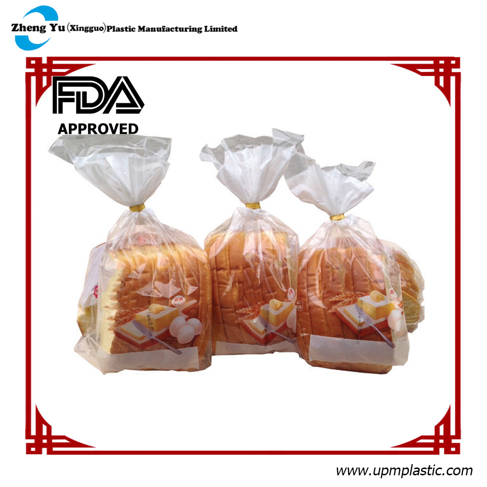 High Transparency PE Plastic Bread Bag