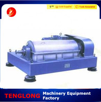 new condition solid liquid separator centrifuge decanter to separate mud and water