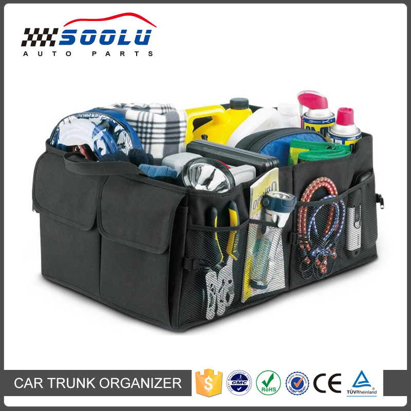Multipurpose Foldable Collapsible Cargo Trunk Storage Car Organizer