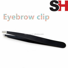 Tip Eyebrow Tweezers For Hair Removal Face Beauty Brow Clip Flat Tip Stainless Steel Women Makeup Tools