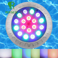 Stainless Resin Filled LED SWIMMING POOL LIGHT 18W 24W,35W for concrete fiber glass pool