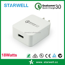 QC3.0 quick cell phone charger