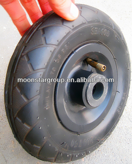 solid rubber wheel small pneumatic tires and wheels