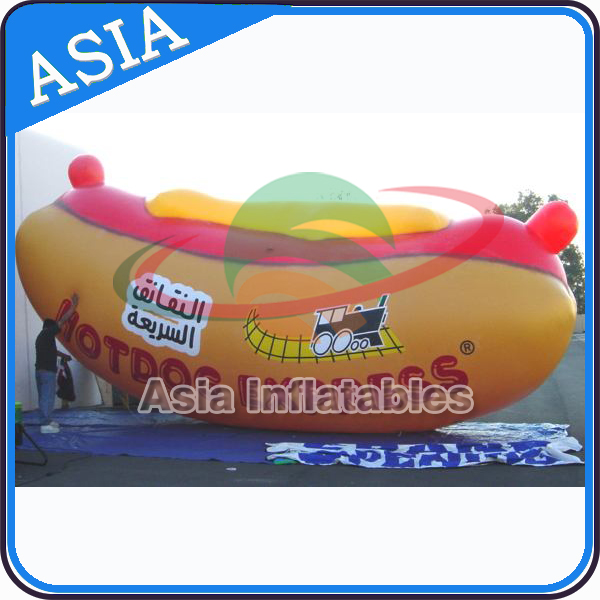 Giant Inflatable Hot Dog, inflatable helium Hot Dog, Inflatable Hot Dog Balloon for Event