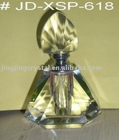 Polished Clear Crystal Body Perfume Bottle10ml