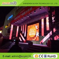 Shenzhen factory price full color P4.81 P5.95 P6 P8 P10 stage outdoor rental led screen/led display/led billboard