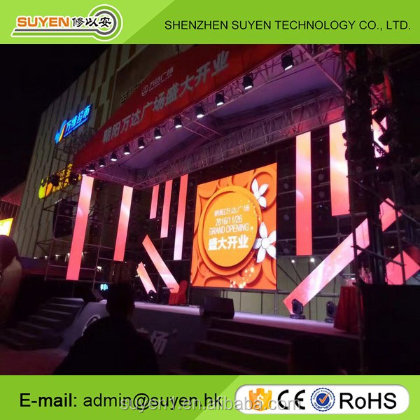 Wholesale price HD full color P3.91 P4.81 P5.95 P8 P10 stage outdoor rental led screen/led display