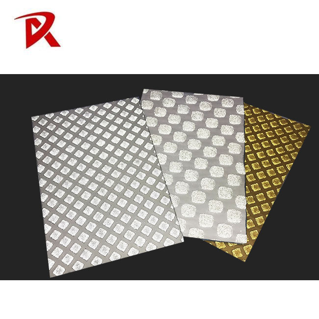 Glass beads reflective road thermoplastic marking tape