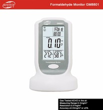 Hot Sale Formaldehyde Detector GM8801 , Indoor Air Quality Formaldehyde Meters