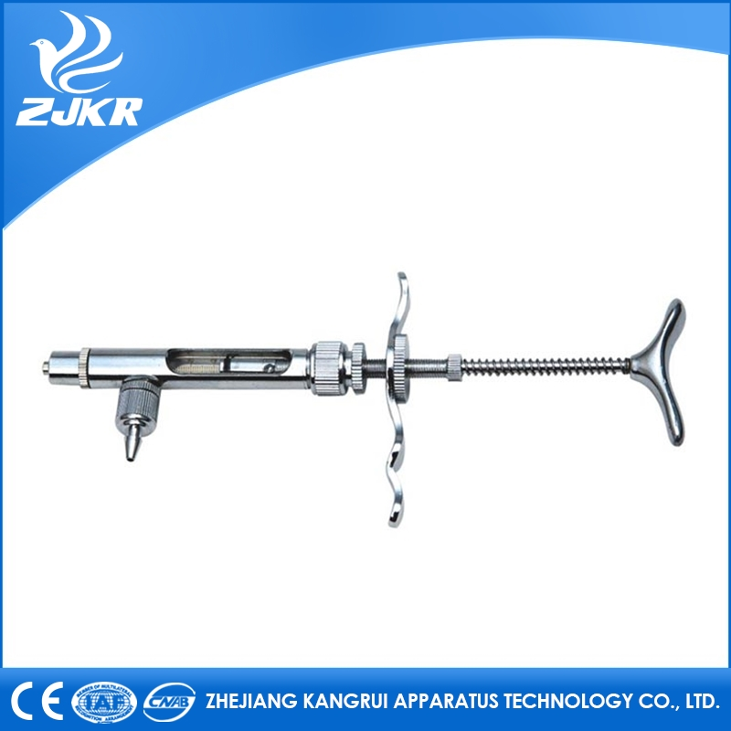 1ml 2ml 5ml Automatic Veterinary Syringes/vaccine/injector in animal healthy