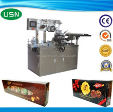 Automatic plastic film package machine