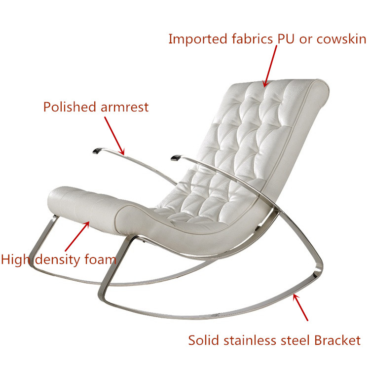 leisure rocking_jpg - Fauteuil Stainless