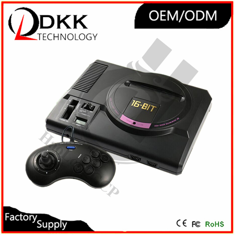 Newest HD TV Out 16 bit tv game console For SEGA MEGA Drive Simulator MD Computer Video Game Console with free cartridge
