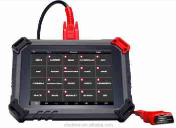 XTOOL NEW & ORIGINAL PS80 HD diesel obd2 scanner TROUBLE CODE READER DIESEL SCAN TOOL free ONLINE UPDATE