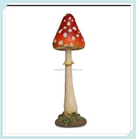 New garden larde resin decorative mushrooms