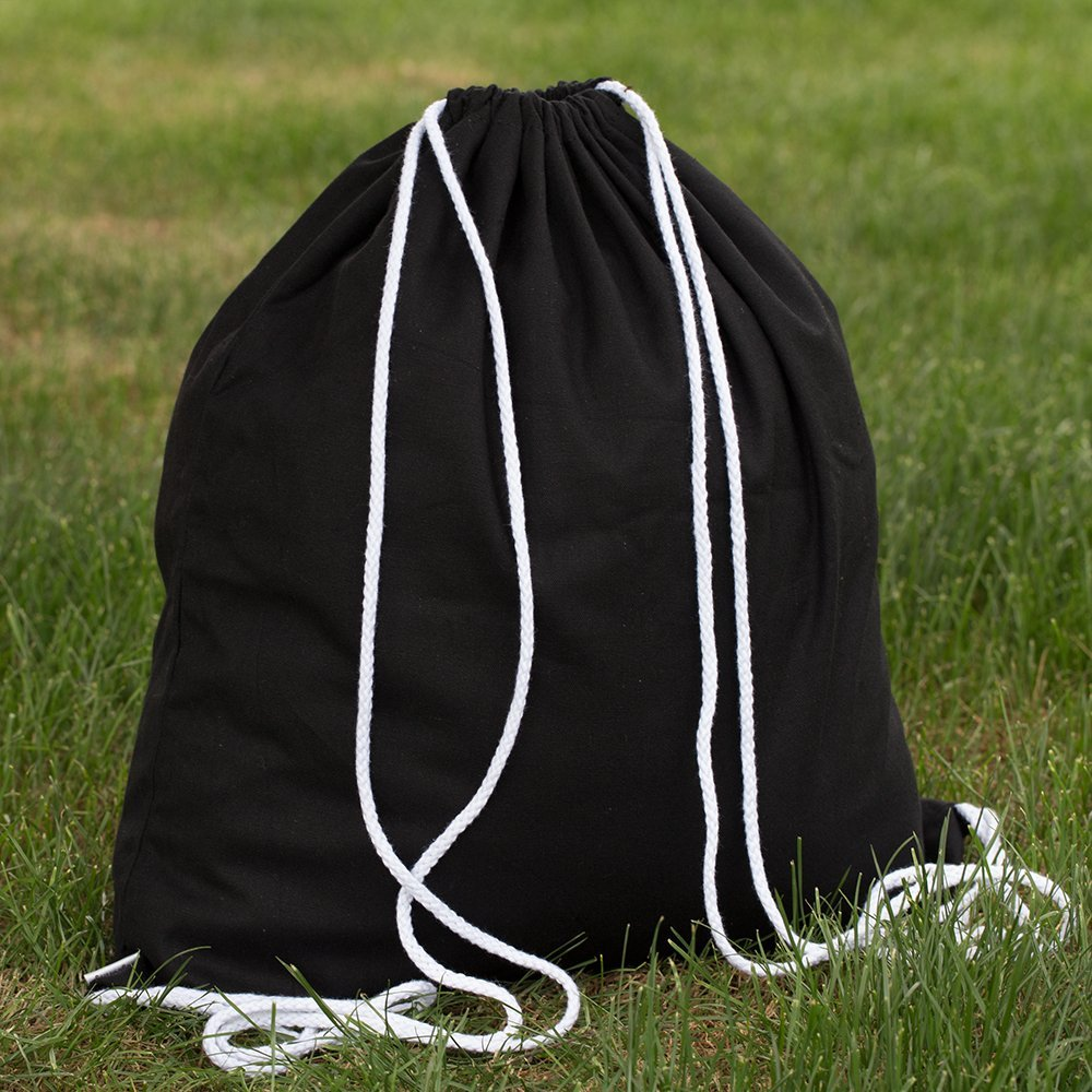 Customised Canvas Drawstring Bag Reusable Cotton Bags