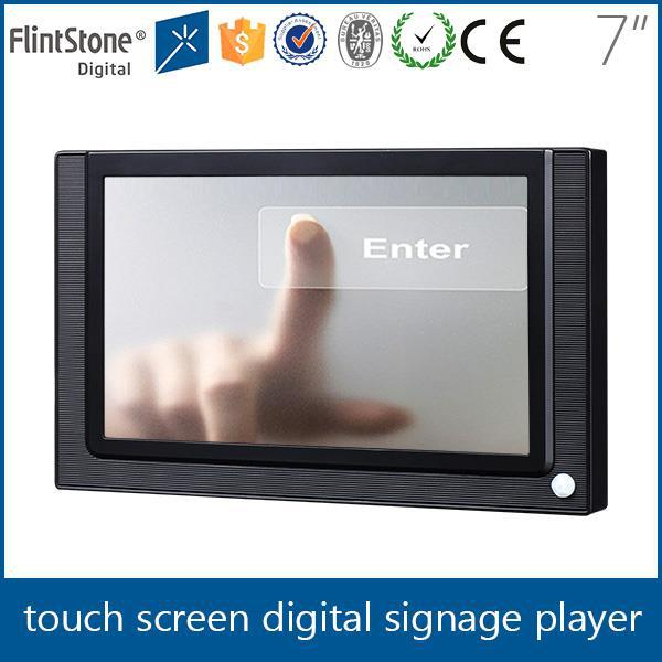 FlintStone durable 7inch usb touch screen avi video players/videoplayer