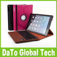 Free DHL 360 Degree Rotatable Removable Bluetooth Keyboard Stand Case For iPad Air 5