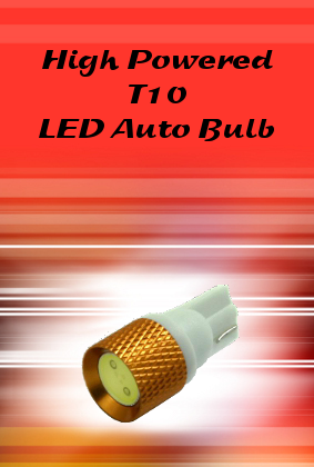 1.5W T10 LED Auto Bulb with LENS