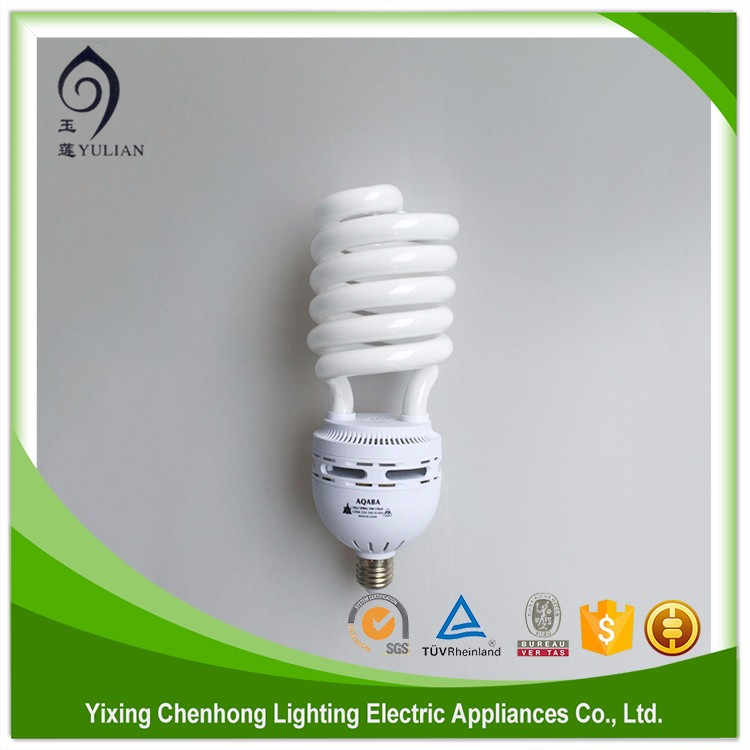High efficiency good quality spiral lamp 8000hrs mini full spiral energy saving lamps e14