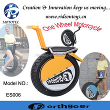 2015 Yongkang Mototec New Design Electric powered One Wheel Motorcycle 500w