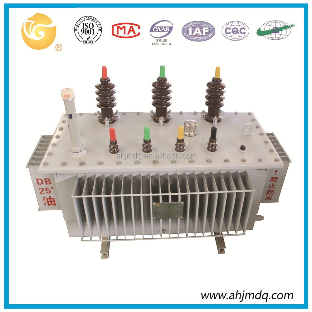 200kva amorphous alloy electrical transformer