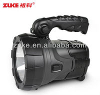 Solar Power System: Quick Sell Super Bright 1W LED Hunting Searchlight-ZK-L-2128