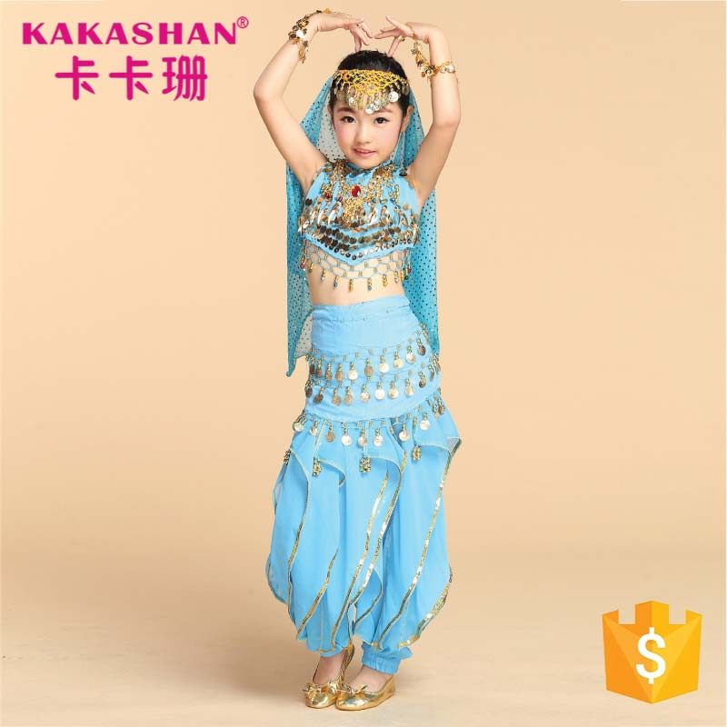 Wholesale Children Dance Wear Sexy Arab Belly Dancer Costume For Girl
