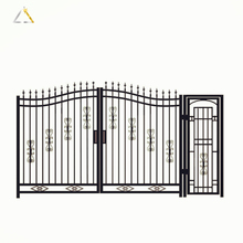 Professional Security Stainless Steel Metal Fence Garden Gates
