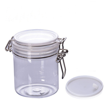 empty cosmetic container food packaging 16 oz clear plastic pet cream jar 500ml