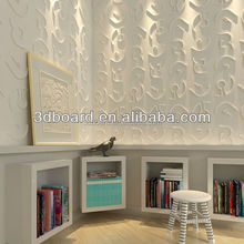2016 Interior and external sheet metal wall covering decorative 3d wall panels