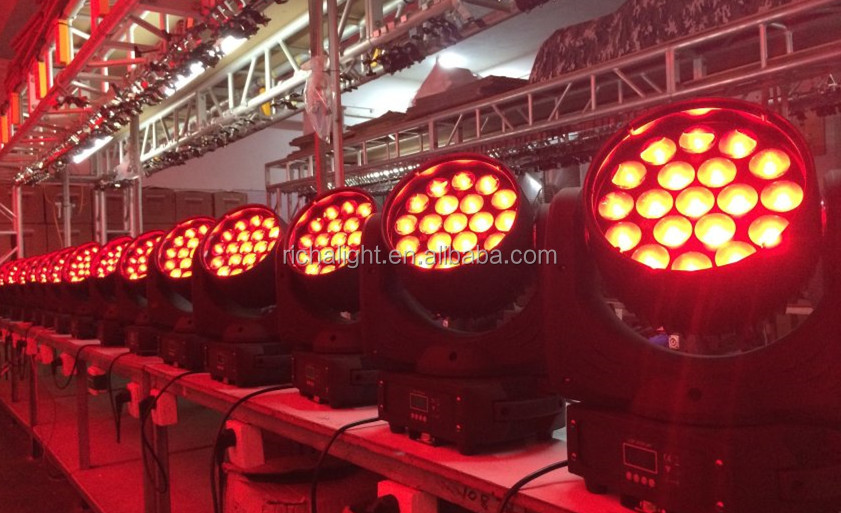 NEW 19pcs 4 in 1 Zoom LED cheap stage lighting