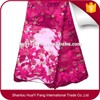 Pakistani 100% polyester lace fabric african tulle high quality lace fabric HY0370