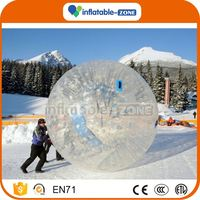 Factory price inflatable light grass zorb ball zorb ball manufacture