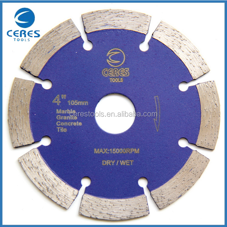 China supplier manufacture special agate cutting diamond saw blade