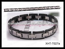 High quality best balance magnetic ion bracelet with germanium ,negative ion , far infrared