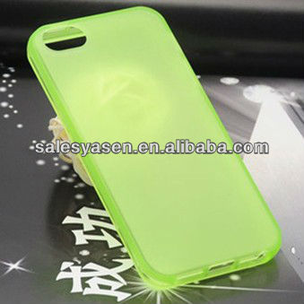 Multicolor high qulity tpu cellphone case for iphone 5