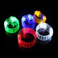 LED BRACELET (sound & motion activated) music dance party flash band SJ-LW03