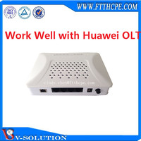 Work well with many olt Gepon ONU V2804CG network device 4FE 4GE ONU FTTH ONT