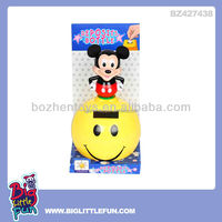 Mickey mouse solar toy coin box