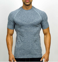 As comfort as second skin lightweight breathable mens seamless knit sportswear manufacturer in YIWU