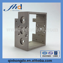 Custom aluminum cnc machining cheap metal machining for gas meter parts