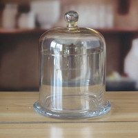Clear Glass Dome Customiezd Glass Cover