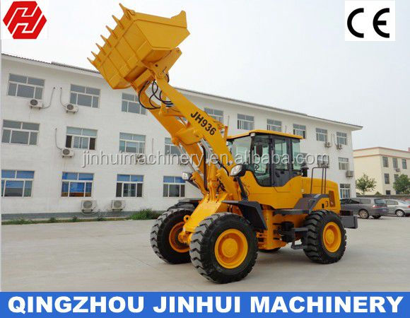 Hot sale! 3000kg wheel loader with ROPS cab and Cummins engine