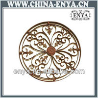 Metal Home Wall Decoration, Round Hanging Ornament