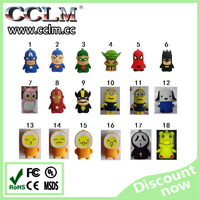 New design cartoon 8800mah power bank super heroes design power bank